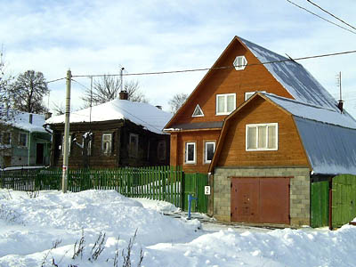 Isba, maison russe