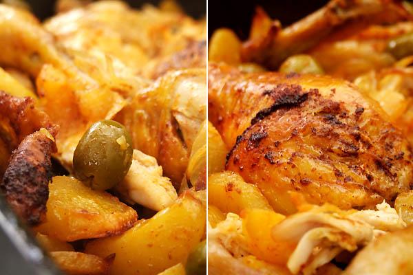 Poulet Roti Aux Olives Et Aux Pommes De Terre Cuisine Campagne