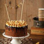 Layercake au chocolat et à la crème de marron